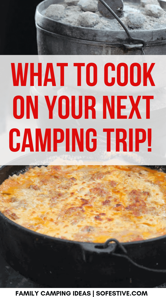 20 Easy Camping Meals Camping Meals So Festive