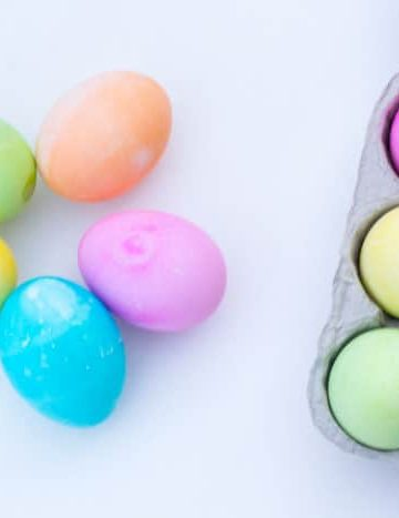 Easter Egg Decorating- Homemade Easter Egg Dye Recipe_