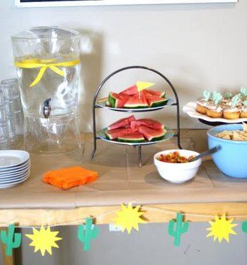 cute cactus party ideas