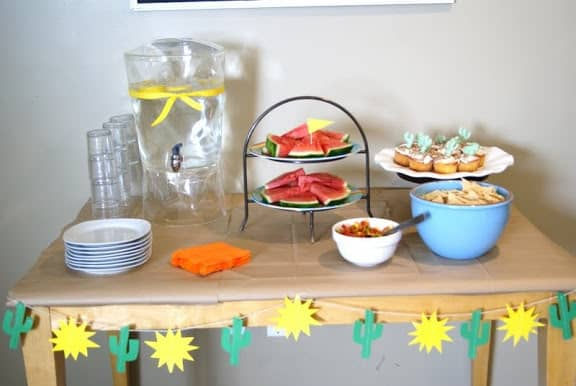 cute cactus party ideas