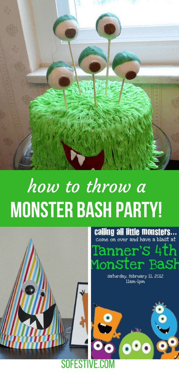 Monster-party-ideas