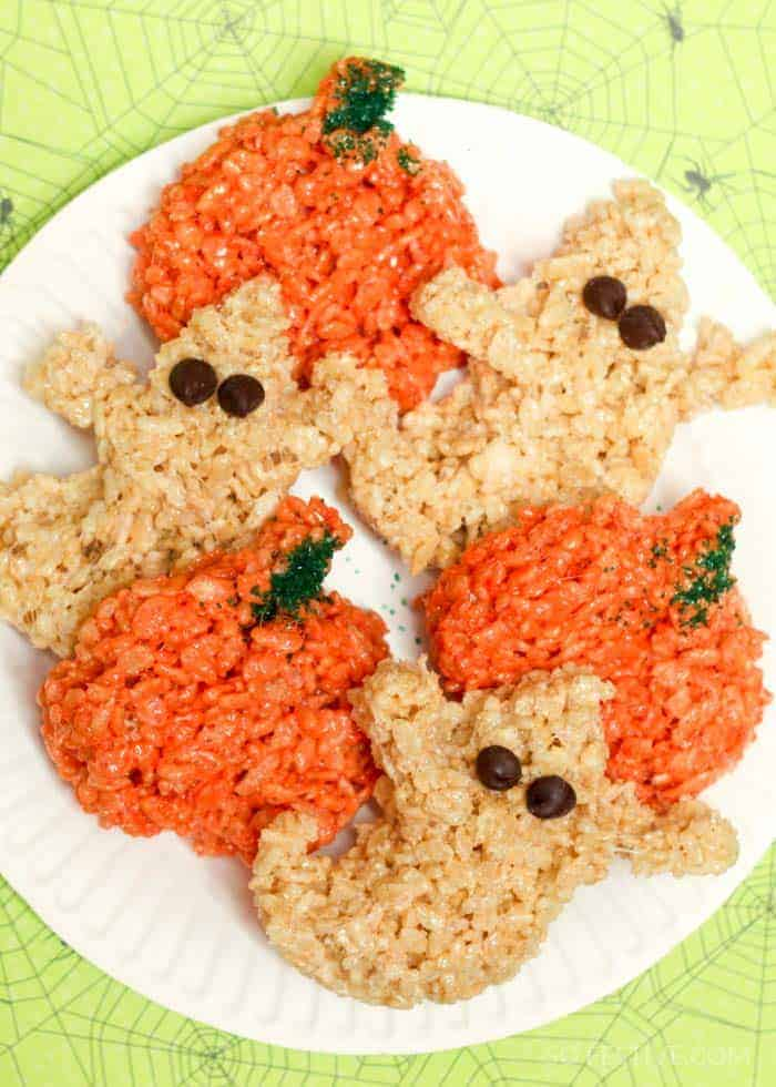 Halloween Rice Krispy Treats-2