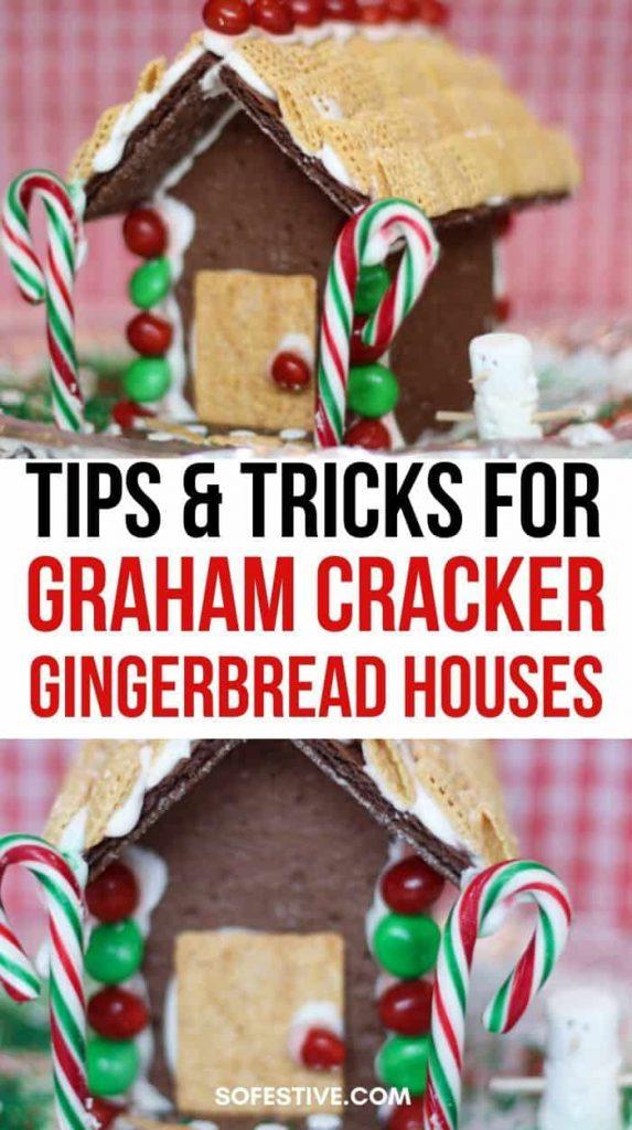 Graham Cracker Gingerbread Houses Tips and Tricks