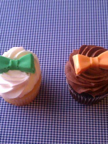 Little Mister Party- Bowtie Cupcakes