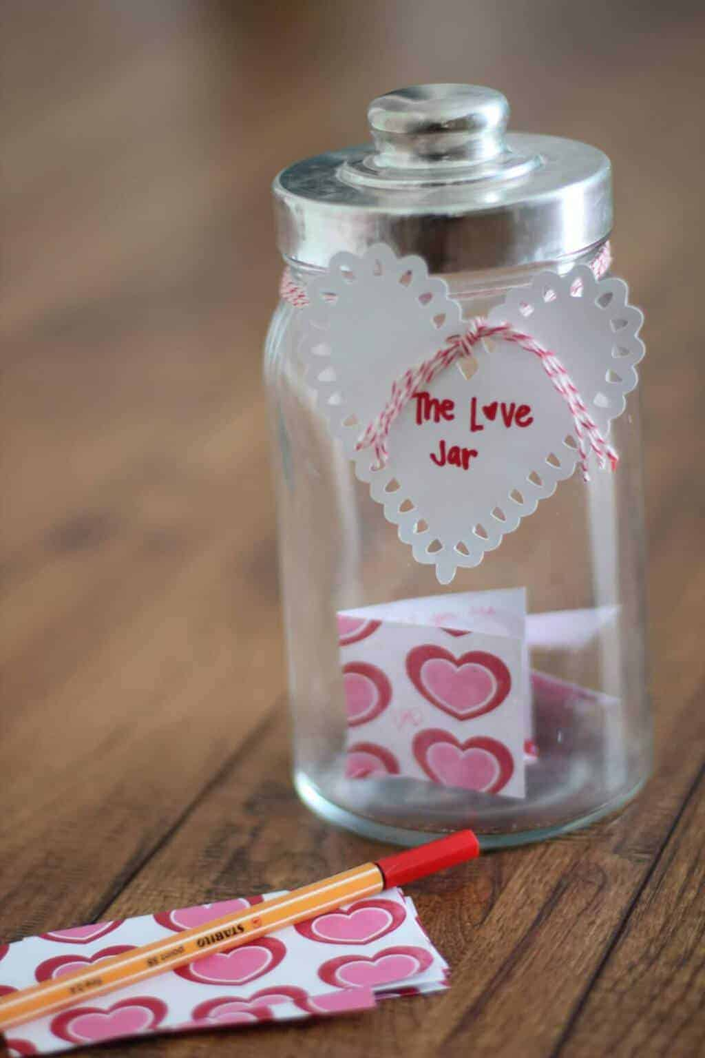 Valentine S Day Tradition The Love Jar 2021 So Festive