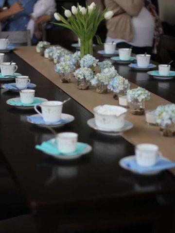 tea party decorations- tea set