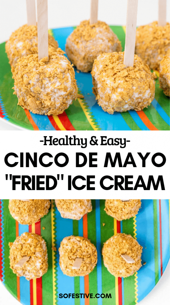 Cinco de Mayo un-fry Fried Ice Cream Mexican Dessert