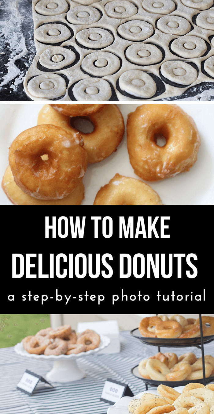 How to Make Donuts-Doughnut Recipe-Spudnut Recipe Step-by-Step Photo Tutorial