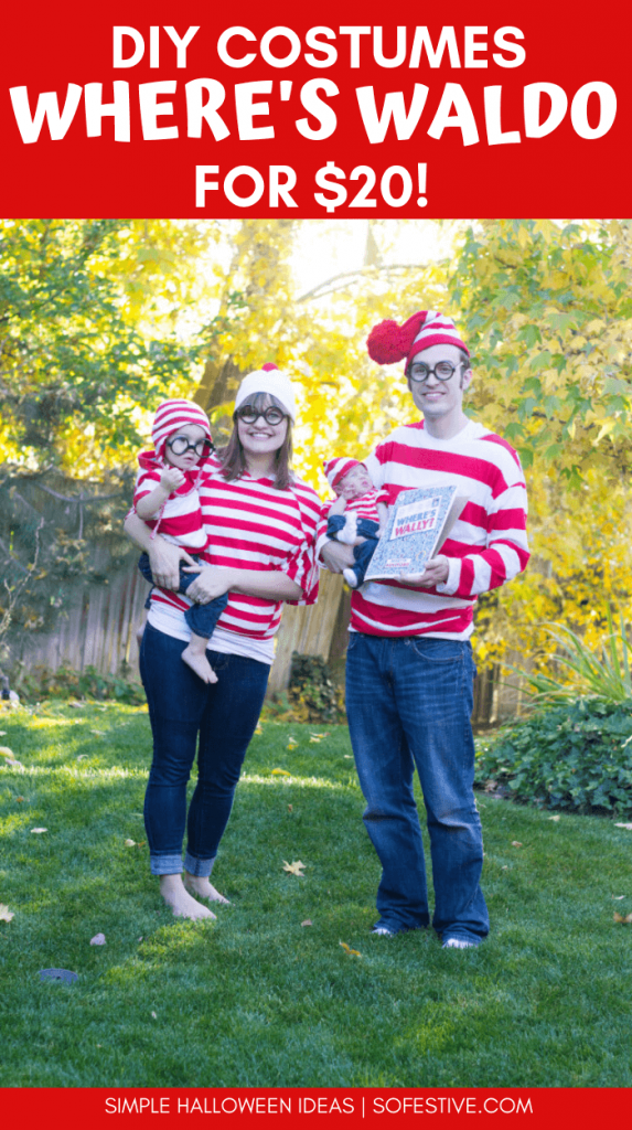 Where's Waldo Family Halloween Costume Ideas