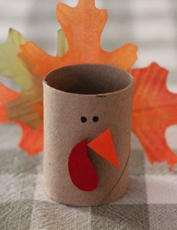 thanksgiving turkey napkin ring crafts