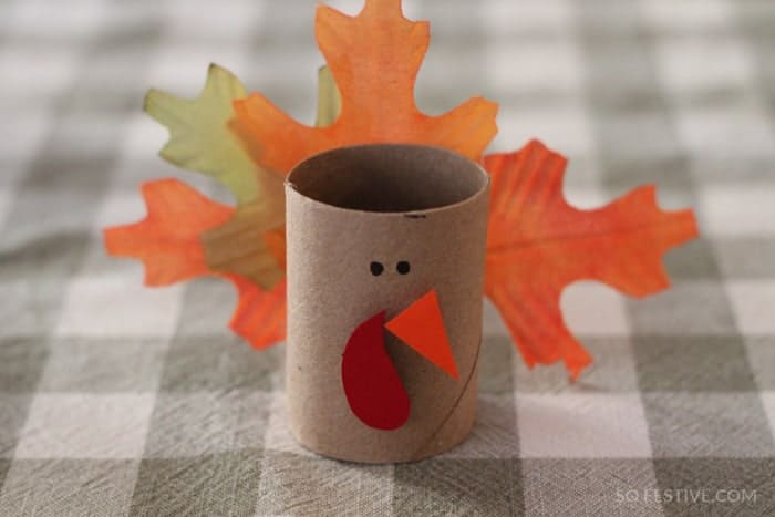 thanksgiving turkey napkin ring crafts