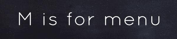 Menu | SoFestive.com