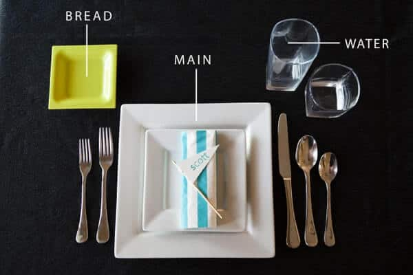 Party planning 101: Place Settings