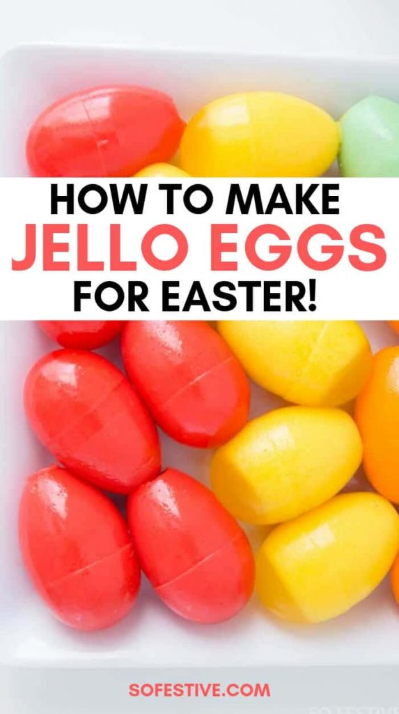 Jello Eggs for Easter- Easter Recipes-