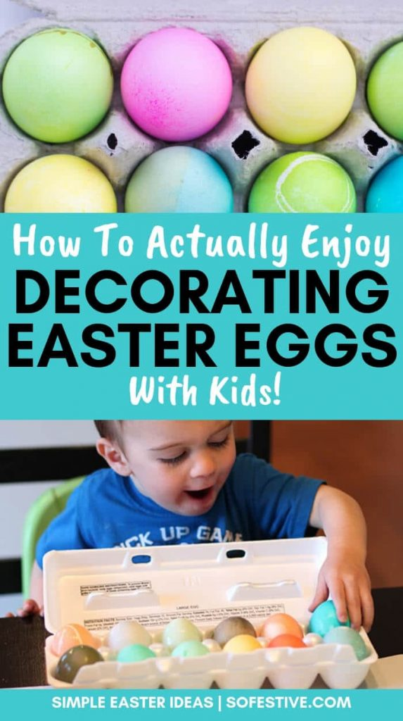 Tips for Decorating Easter Eggs With Kids - Easter Egg Dye