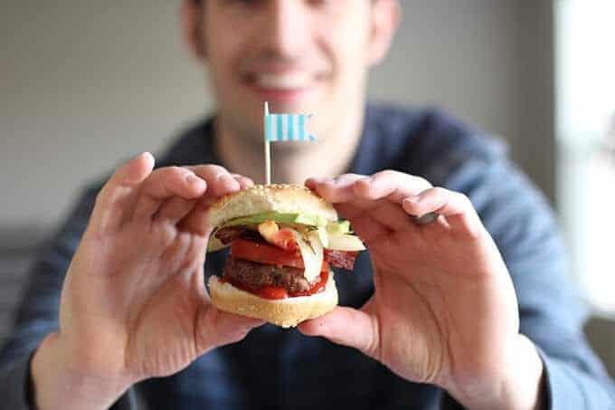 hamburger-party-food