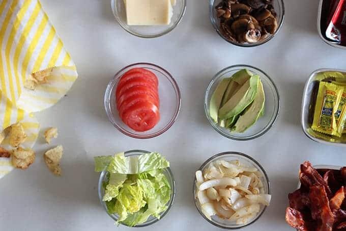 hamburger-toppings