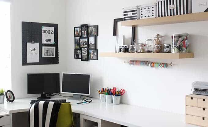 modern-black-white-home-office-craft-room