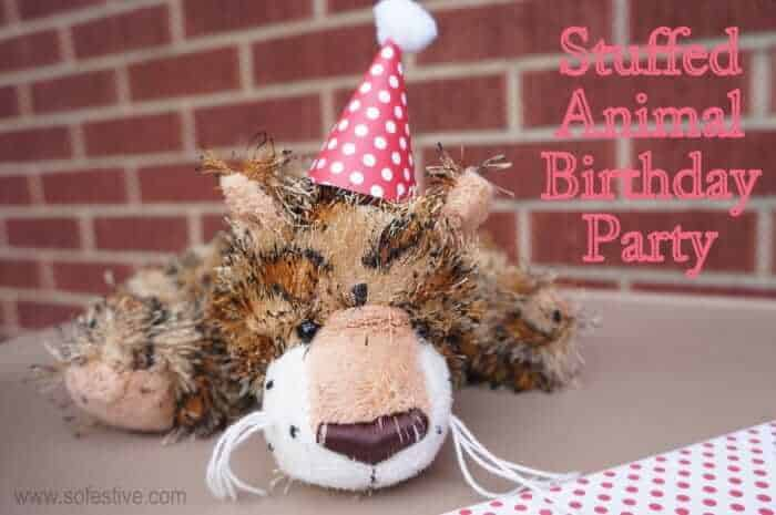 Cute Stuffed Animal Birthday Party Ideas Sofestive Com