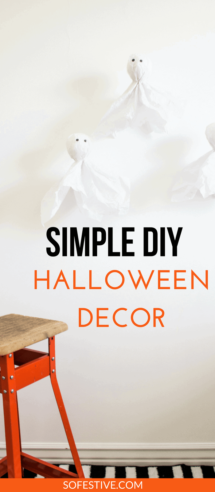 Simple DIY Halloween Decorations- Halloween Party Ideas- Cheap Halloween Decor Ideas