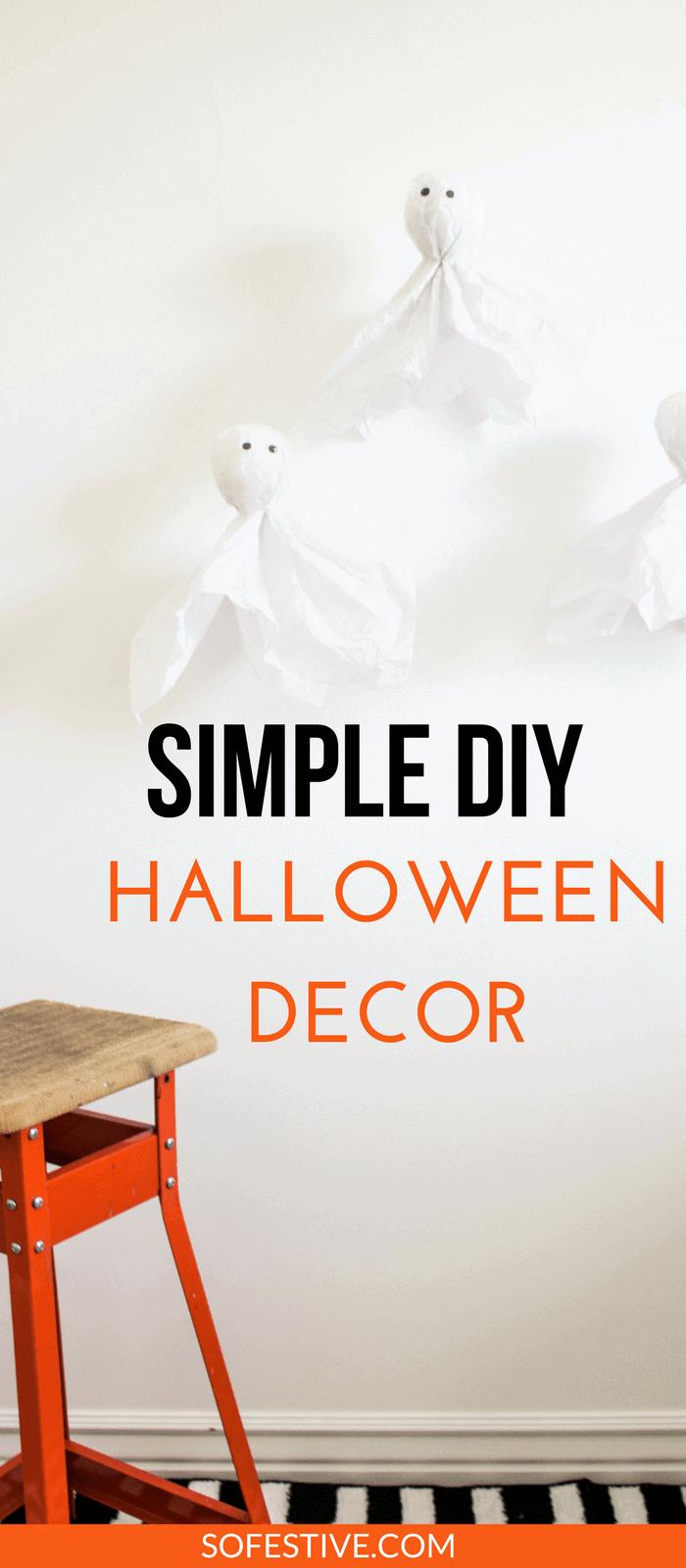 simple diy halloween decorations halloween party ideas cheap halloween decor ideas