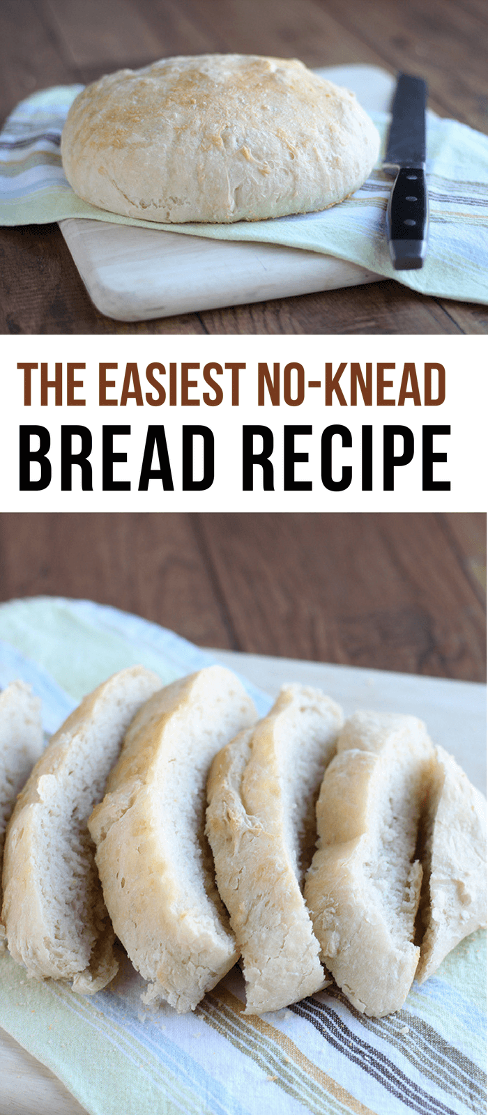 The Easiest No-Knead Bread Recipe
