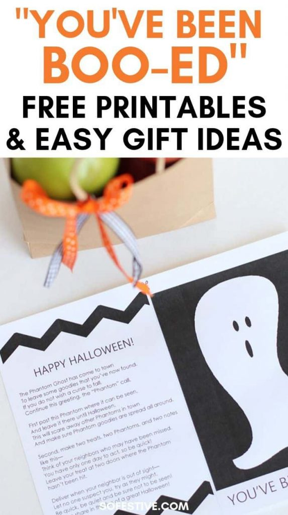 You've Been Booed Halloween Printables
