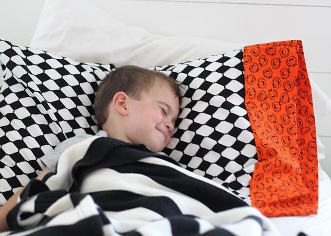 halloween- pillowcase
