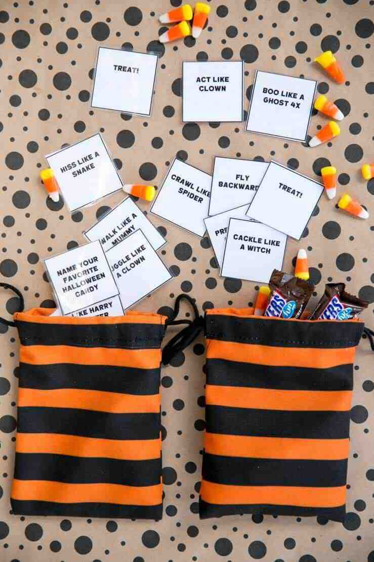 simple halloween game class party family halloween party