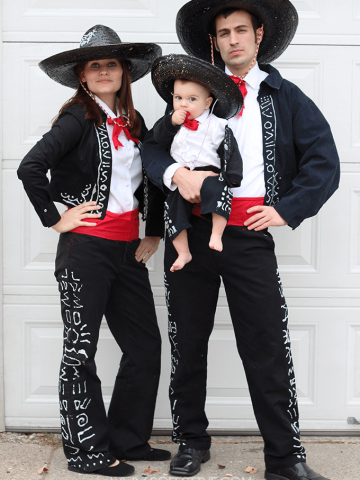 diy-3-amigos-costumes