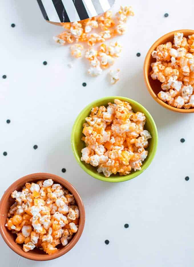 halloween -popcorn