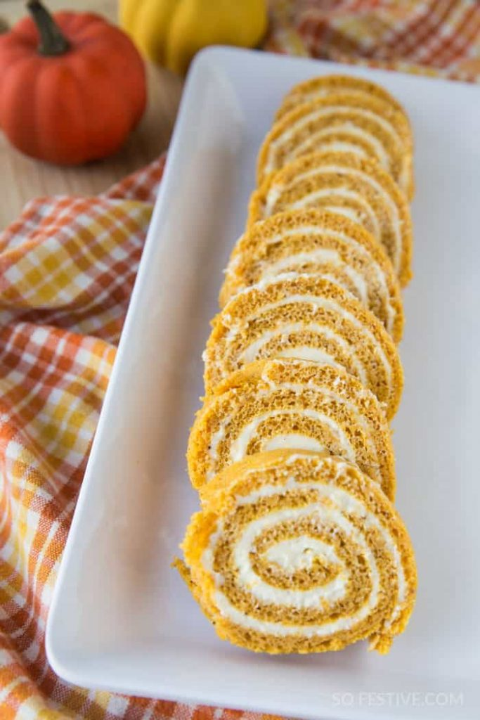 pumpkin-cake-roll-cream-cheese-frosting