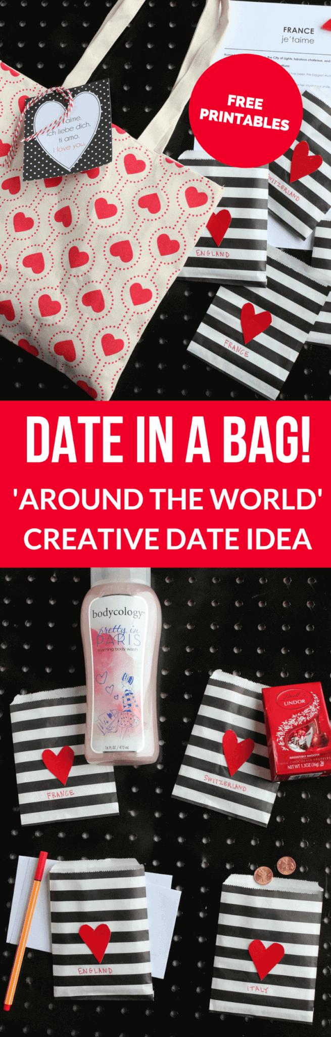 Creative Date Idea- Around the World