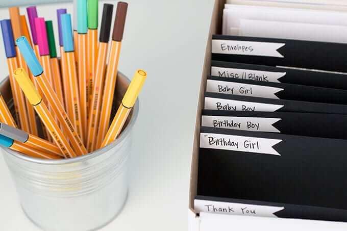 greeting-card-organizer