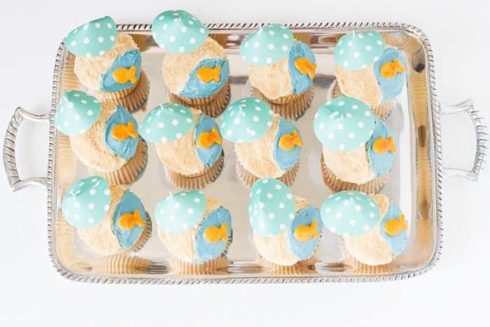Beach Cupcakes Tutorial-2