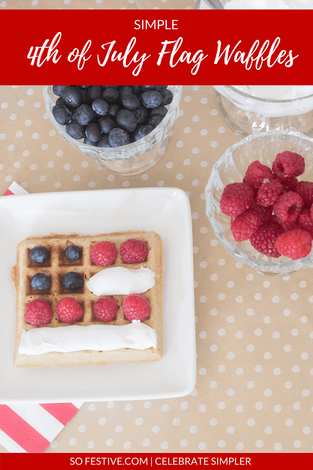 Flag Waffles-4th-Of-July-Breakfast