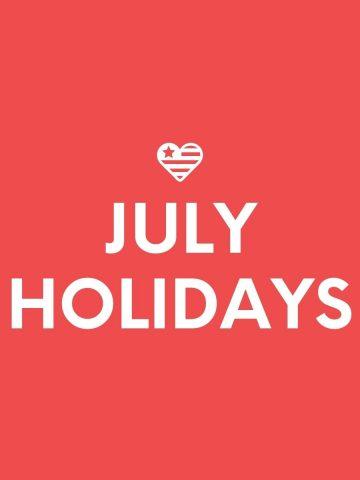 JULY-HOLIDAYS