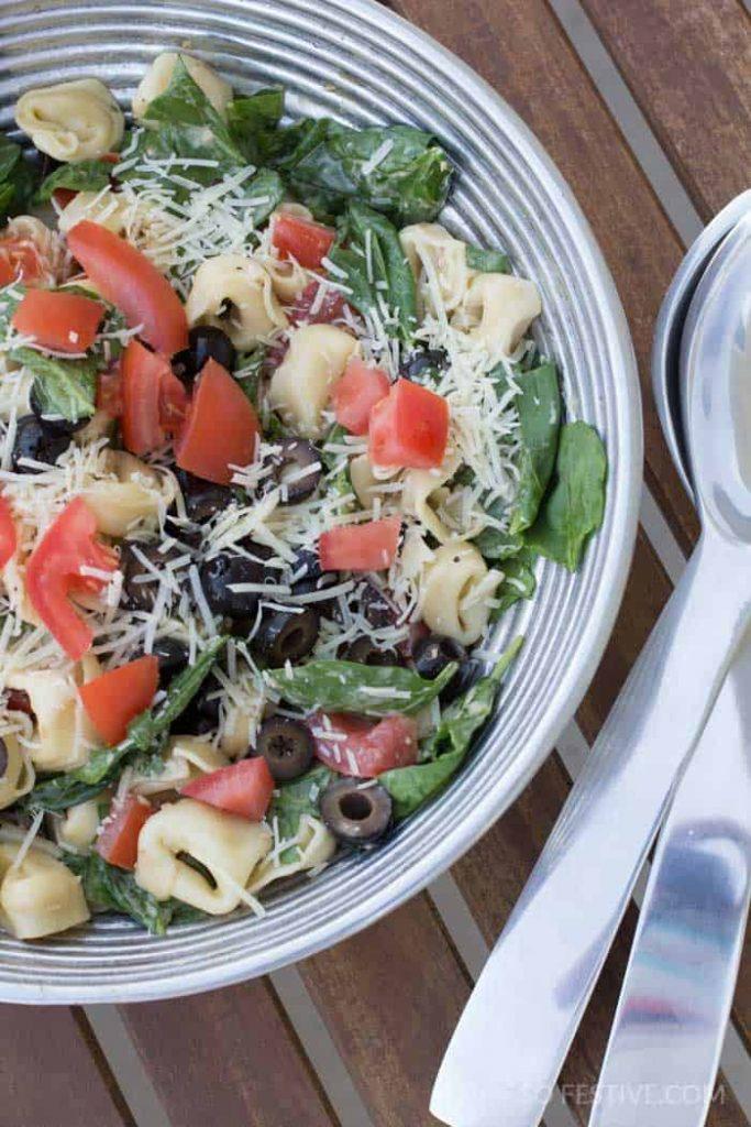 spinach-tortellini-caesar-salad