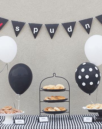 doughnut-party-tablescape