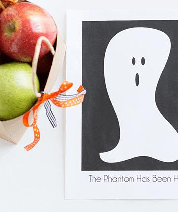 The Neighborhood Phantom Ghost Halloween Tradition