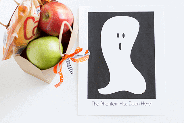 The Neighborhood Phantom Ghost Halloween Tradition