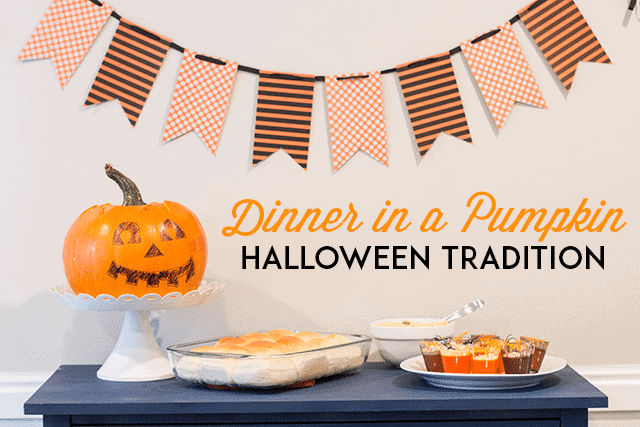 Cook Dinner in a Pumpkin: A Halloween Tradition!
