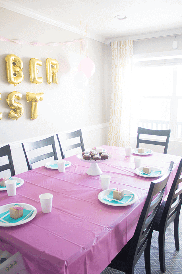 An Ok-2-berfest 2 year old party. And where to get letter balloons cheap