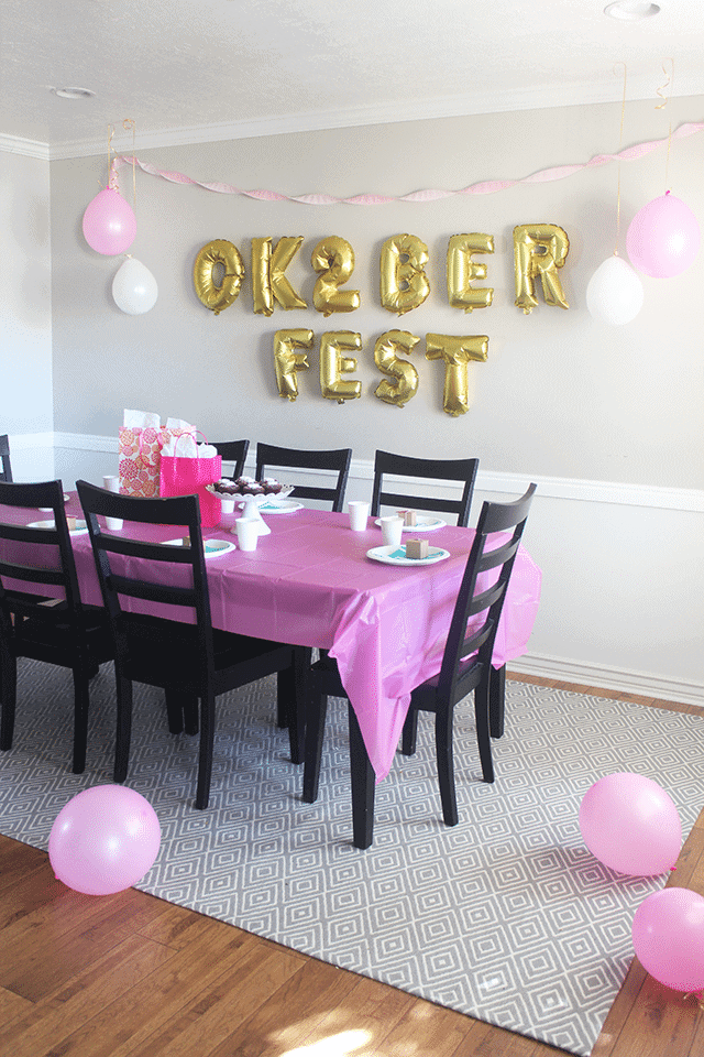 Oktoberfest 2 Year Old Birthday Party Theme