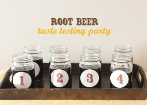 A Root Beer Taste Test Party