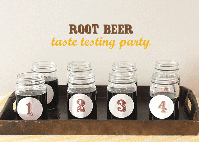 root-beer-taste-testing-party