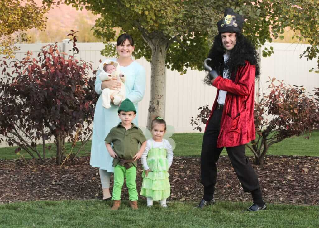 peter pan family costumes for cheap