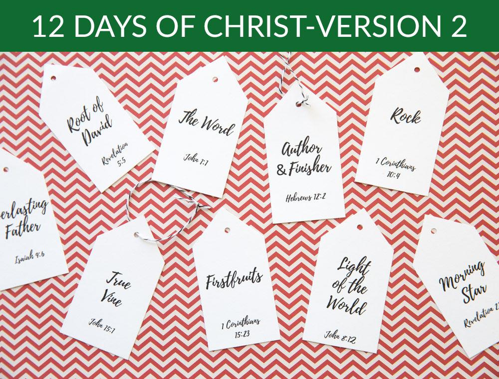 12 Days of Christ-Version 2
