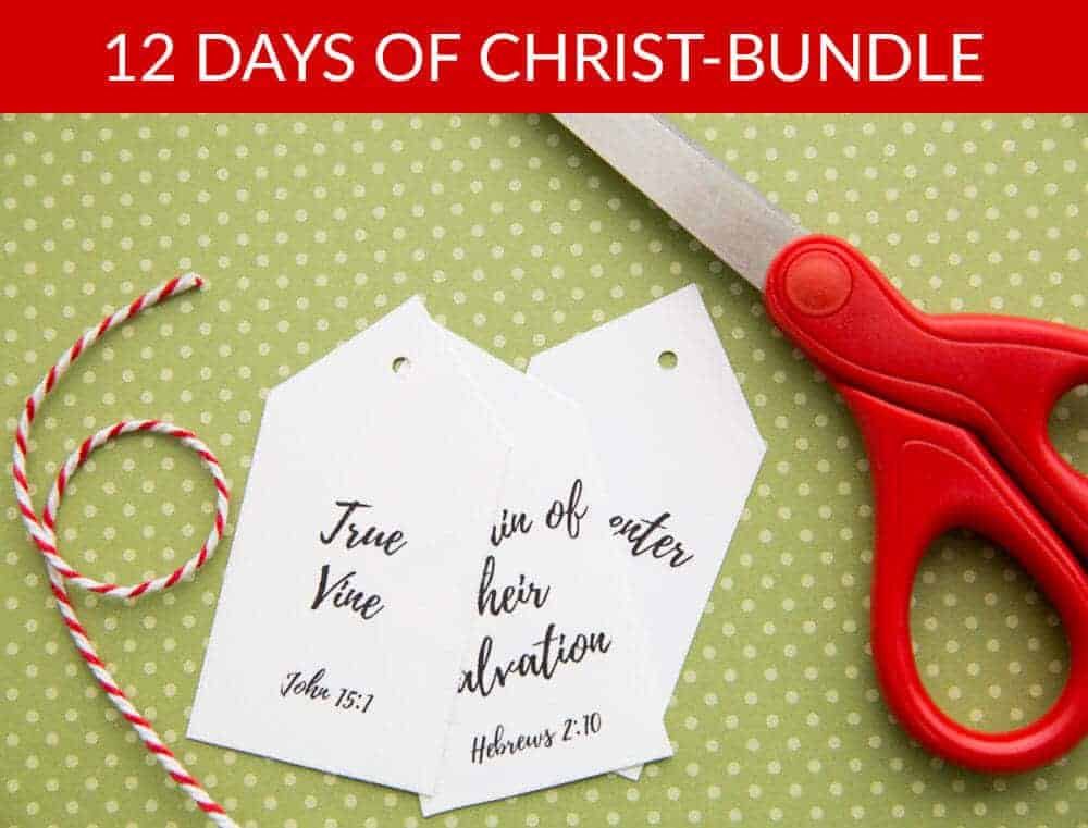12 Days of Christ bundle