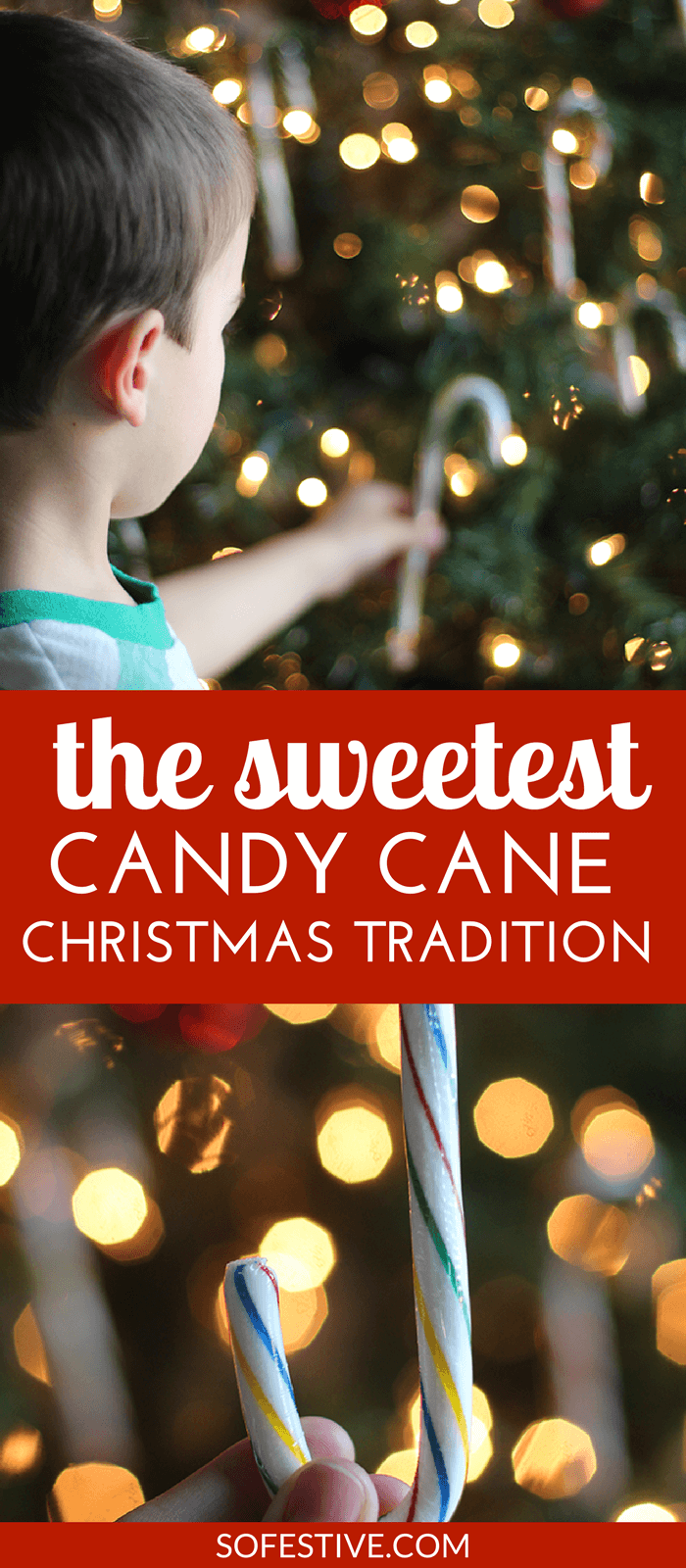The Sweetest Candy Cane Christmas Tradition- It's Not What You Think!